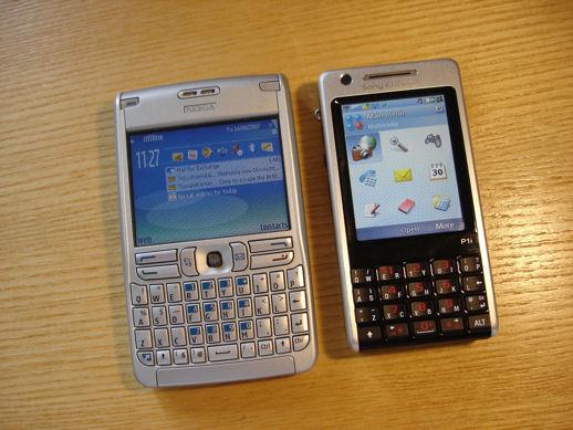 3d модели: бытовая электроника - 3d-модель мобильный телефон sony ericsson p1i