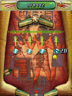 Mile High Pinball egyptian hidden level