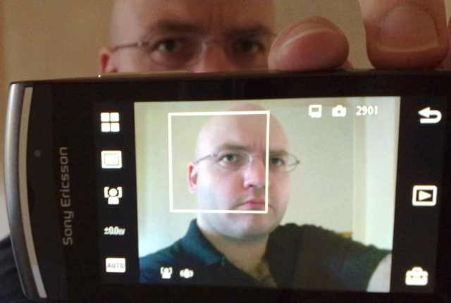 Vivaz Pro Camera UI: Face detection