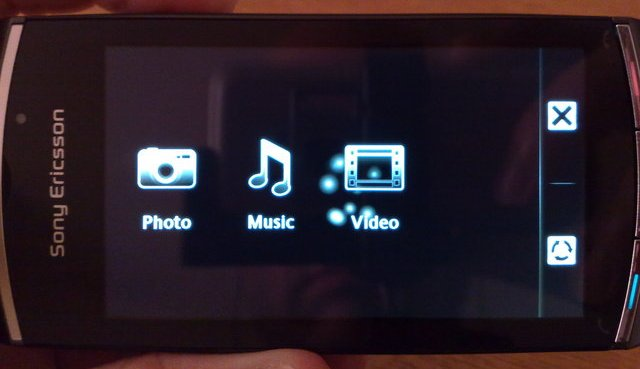 Vivaz Pro MultiMedia front-screen