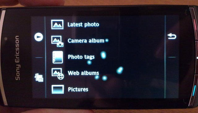 Vivaz Pro Photo Menu