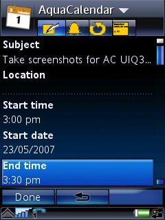 AC UIQ 3 - text entry