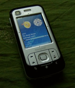 Nokia 6110 Navigator music player