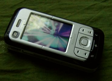 Nokia 6110 Navigator video player