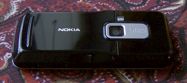 Nokia 6120 Classic smartphone back view