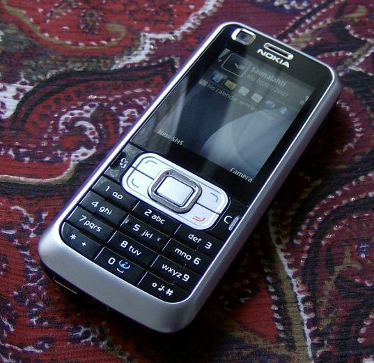 Nokia 6120 Classic smartphone