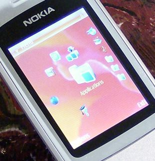 Nokia 6290 horseshoe display