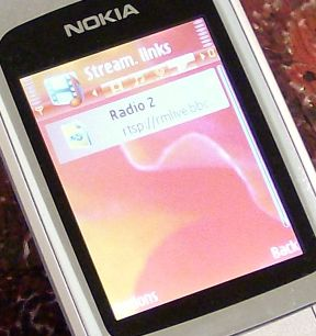 Nokia 6290 internet radio