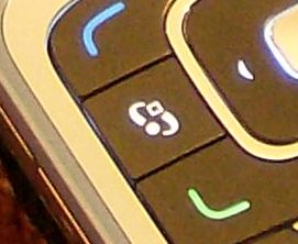 Nokia 6290 menu key