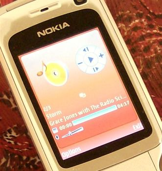 Nokia 6290 music player app