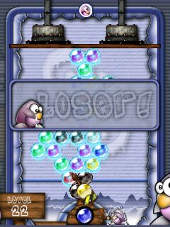 Frozen Bubble level failed