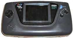 Sega Game Gear console