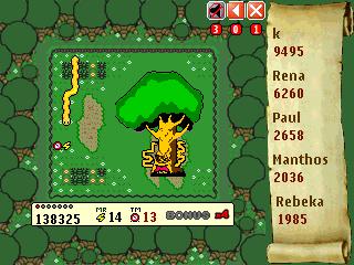 Snake Deluxe boss level