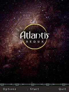 Atlantis Redux title screen