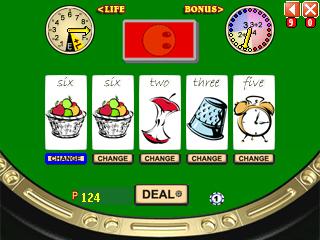 Croker gameplay screen