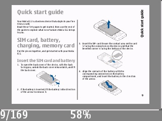 Reading the E55's PDF manual, on the E55!