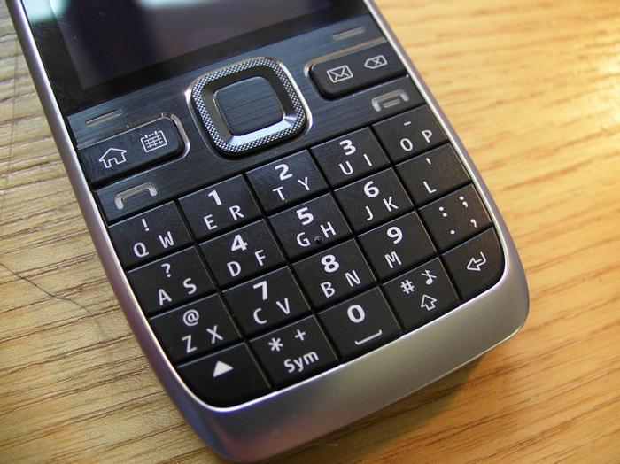 E55 keyboard