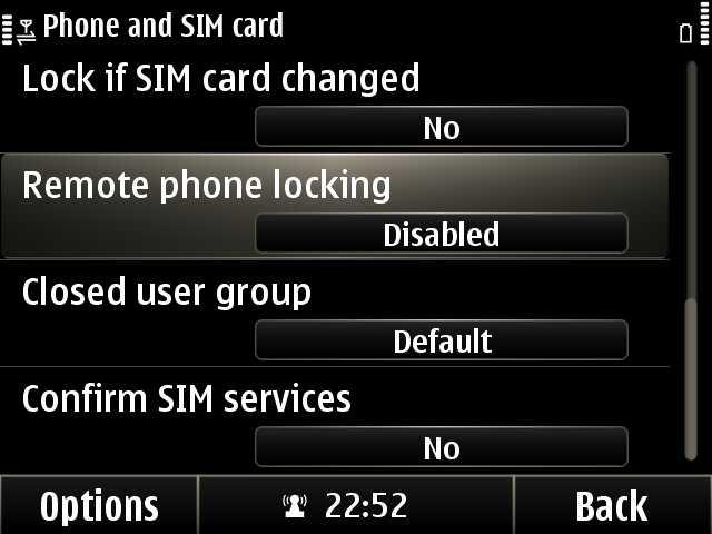 Phone and Sim Card