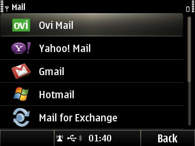 Mail set up