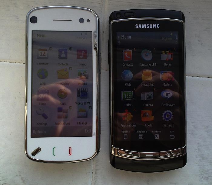 N97 and i8910 HD