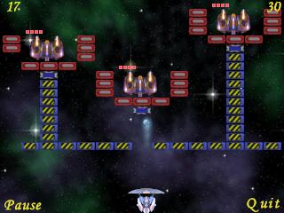 Meteor three spaceships