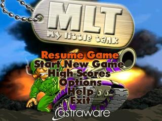 My Little Tank title screen