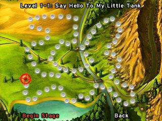 My Little Tank level map