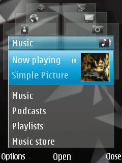 Multimedia menu