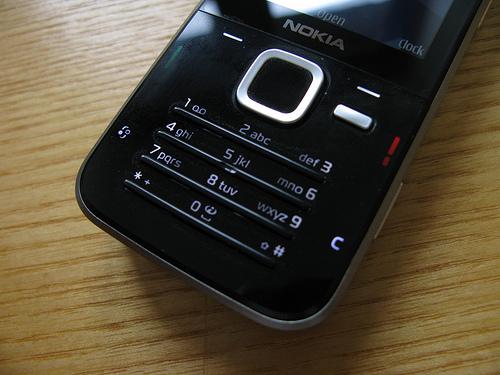 N78 keypad