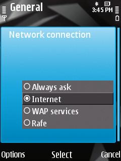 selecting ap in web