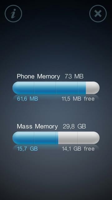 N97 - storage consumption