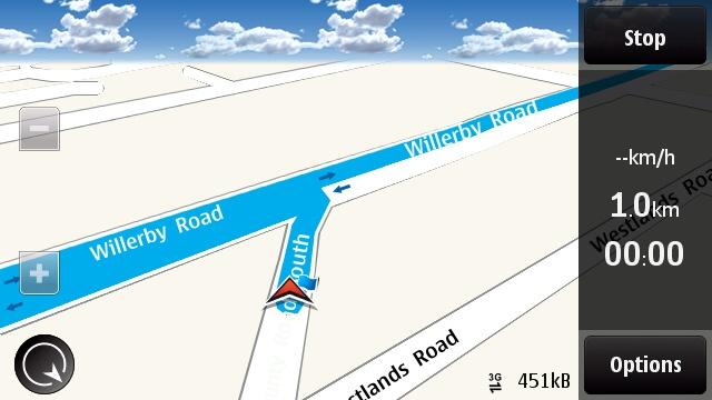 N97 - Ovi Maps Navigation