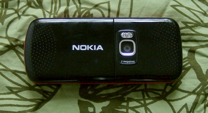 Nokia 5320 back view