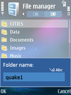Quake File Location
