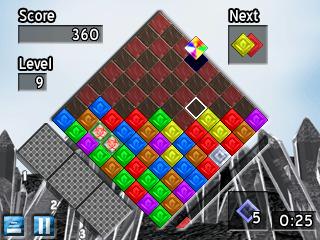 Quartz 2 gameplay screen