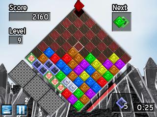 Another Quartz 2 gameplay screen