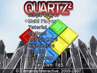 Quartz 2 title screen