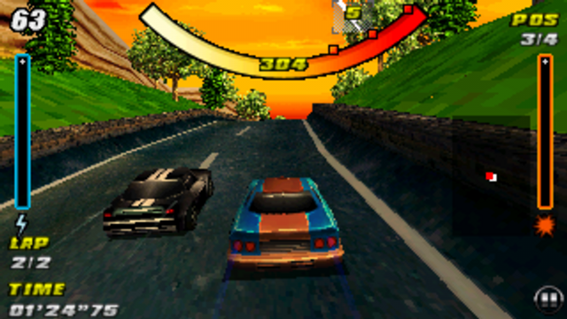 Raging Thunder screenshot