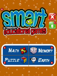 Smart Educational Games title screen
