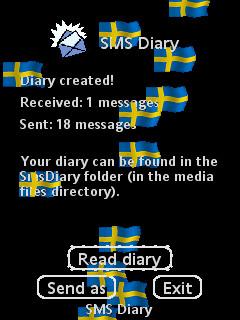 SMS Diary Created!