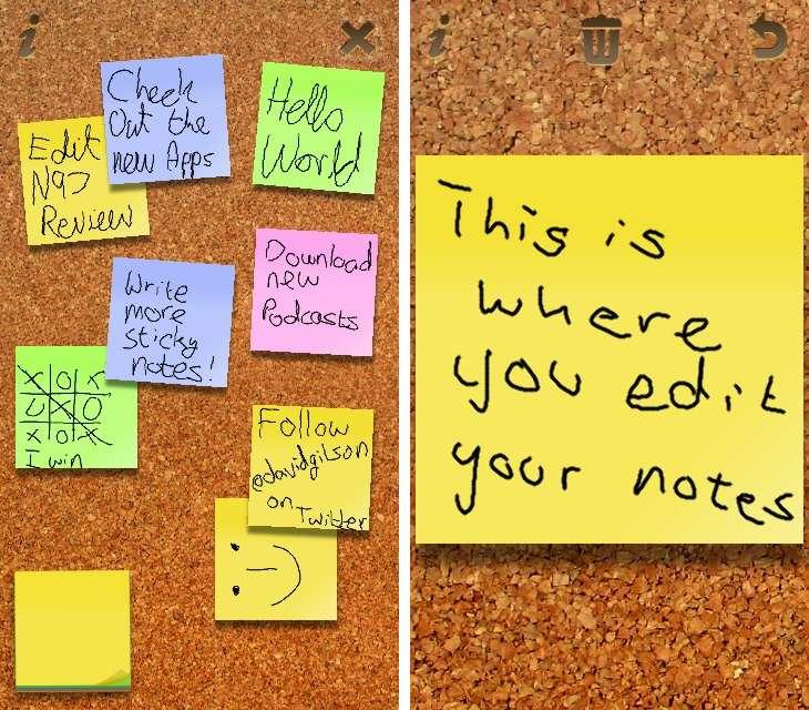 Sticky Notes on S60