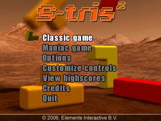 STris 2 Title Screen