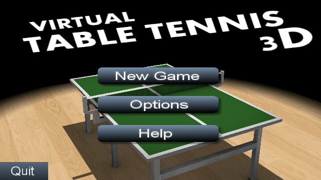 Virtual table tennis 3d review all about symbian for Table tennis serving rules