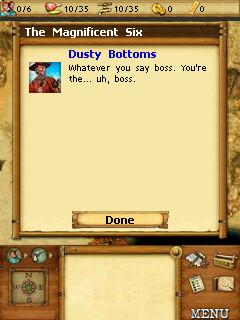 Westward dialogue box