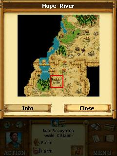 Westward map