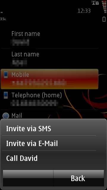 Providing an option to invite (or spam?) your friends