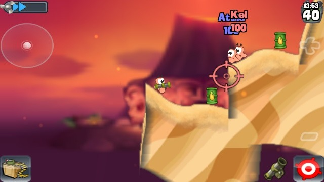 Screenshot Worms HD