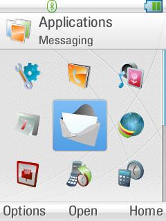 Z10 App Screen