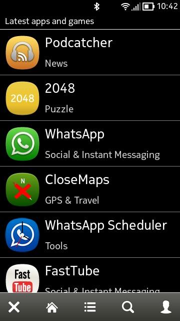 Screenshot, AppList