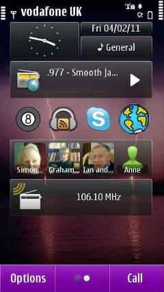 AppMe widget in place